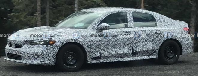 Honda Civic Spy shot