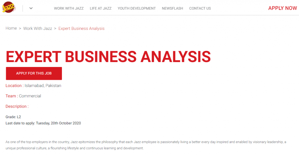 latest jazz jobs 2021