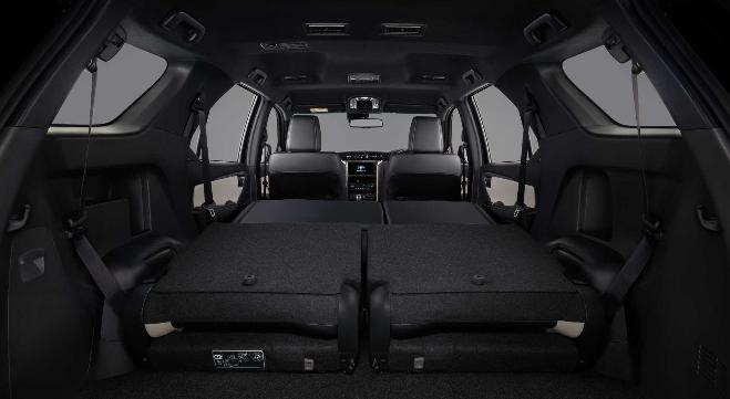 Toyota Fortuner Seats 2021