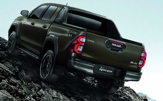 Toyota Hilux 2021 pictures in Pakistan